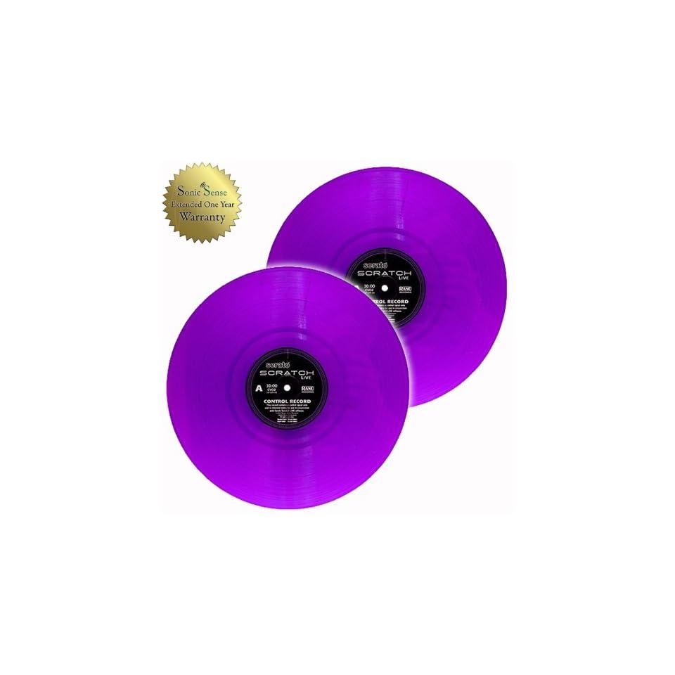 Rane Serato SSL Serato Scratch Live Purple Vinyl Timecode on