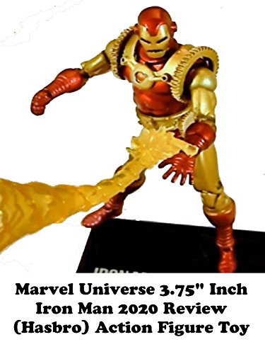 "Marvel Universe 3.75"" inch IRON MAN 2020 review (Hasbro) action figure toy"