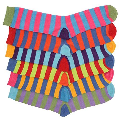 12prs-Boys-Cotton-Rich-Funky-Multi-Colour-Stripe-Design-Socks-Back-to-School-Sock-School-Uniform
