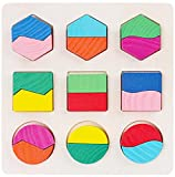 (エイチケーエイチ) HKH 遊んで学ぼう 知育 遊具 木製 形合わせ はめ込み パズル キッズ 子供 おもちゃ 図形 勉強 (A)