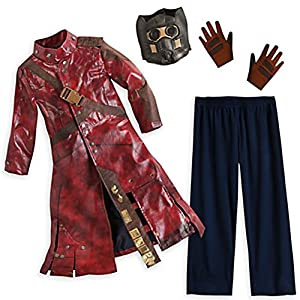 Disney Store Deluxe Star Lord Costume Guardians of the Galaxy L Large 9 - 10