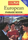 Berlitz European Phrase Book (2831515203) by Berlitz Guides