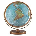 Atlantis 12 Raised Relief Desk Globe