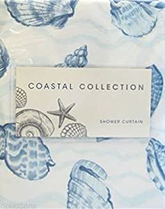Clip Rings For Curtains Seashell Shower Curtain
