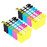 Blake Printing Supply Remanufactured Ink Cartridges Replacement For Epson 126 (4x Black 4x Cyan 4x Magenta 4x...