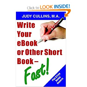 Write your eBook or Other Short Book - Fast! Marshall Masters
