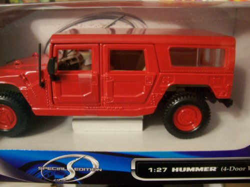 Maisto Special Edition 1:27 Hummer 4-Door Wagon (Red)