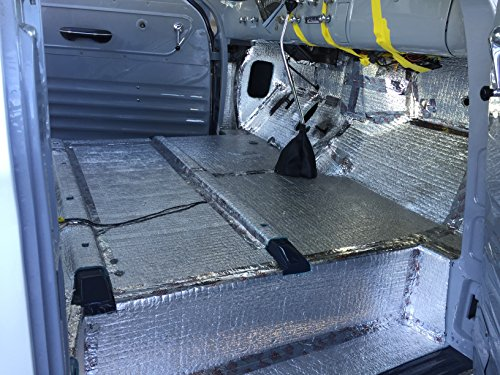Car insulation 4 x 25 roll 100 sqft sound deadener for Best sound barrier insulation