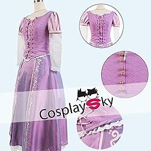 【cosplaysky】 塔の上のラプンツェル コスプレ 衣装 女性L