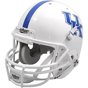 NCAA Kentucky Wildcats Replica Helmet - Alternate 1 (White) by Schutt