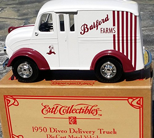 Ertl Balford Farms 1950 Divco Delivery Truck #19983P Bank In Diecast Metal front-1004642