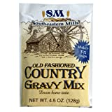 Southeastern Mills Gravy Mix, Country, 4.5-Ounce Packages (Pack of 24) ~ Southeastern Mills