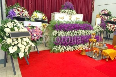 """Wallmonkeys Peel and Stick Wall Decals - Thai Funeral - 24""""W x 16""""H Removable Graphic"""