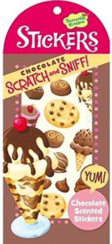 Peaceable Kingdom Scratch and Sniff Chocolate Scented Sticker Pack