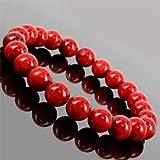【女性的な魅力をUP】天然石 赤珊瑚(コーラル)ブレスレット/4mm