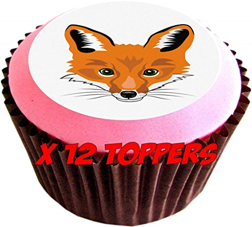 fox-cartoon-edible-cake-toppers-12-of-38mm-15inch-111