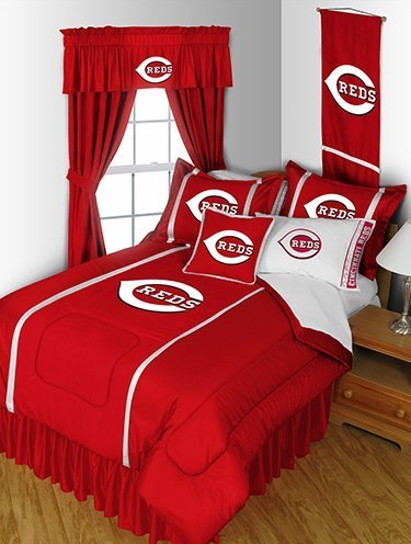 Solid Red Twin Comforter