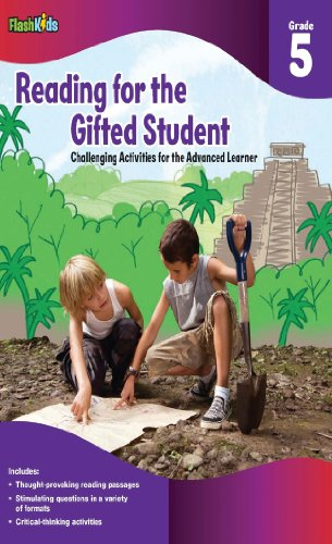 Reading for the Gifted Student Grade 5 (For the Gifted Student), Flash Kids Editors