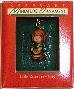 Hallmark Miniature Keepsake Christmas Ornament Little Drummer Boy 1988 in Box