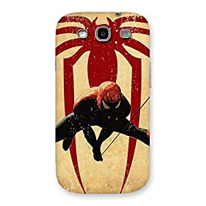 Hanging Web Back Case Cover for Galaxy S3 Neo