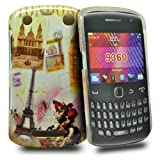 Accessory Master Hard Shell Case for Blackberry Curve 9360 Paris