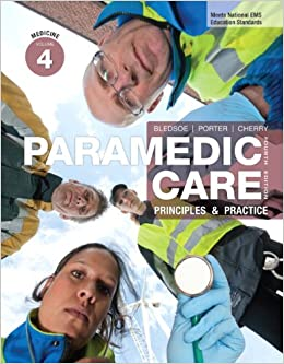 Paramedic care principles and practice 4th edition