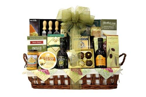 Wine.com Gift Basket, Bountiful Snacks, 9.60