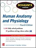 img - for Schaum's Outline of Human Anatomy and Physiology: 1,470 Solved Problems + 22 Videos (Schaum's Outlines) book / textbook / text book
