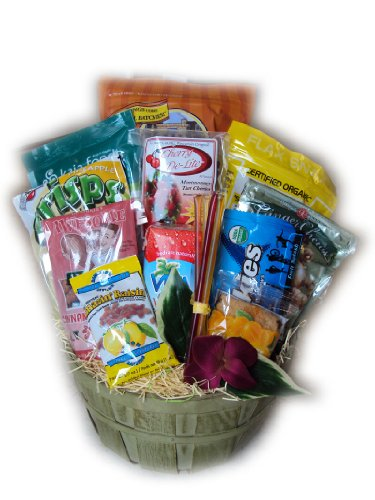 Marathon Runner Healthy Gift Basket