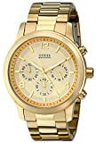 GUESS Men's U15061G2 Defining Style Gold-Tone Chronograph Watch