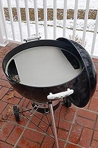 kettlepizza baking steel steel skillet lid for 22 5 kettle grills patio lawn. Black Bedroom Furniture Sets. Home Design Ideas