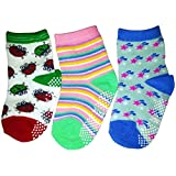 C2BB 3 pairs of boys or girls anti slip baby socks chidren from 1 to 3 years old item 5