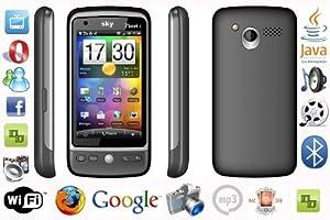 **PREMIUM** SCHWARZ I959 WLAN DUAL SIM JAVA REAL TOUCHSCREEN HANDY DUALSIM WIFI JAVA 3,2 ZOLL LCD Wi-Fi (Wireless Lan) - Real Touchscreen - Trackball - Java - Shake Control - Touchflo - Schwerkraftsensor - Handschrifterkennung - Dual Bluetooth - Dual Kamera - Blitzlicht - MP3 und vieles mehr. Schwarz von Avcibase