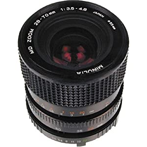 MINOLTA MD28-70MM 28-70MM f/3.5 - 4.8 MD Manual Focus Lens by Konica Minolta