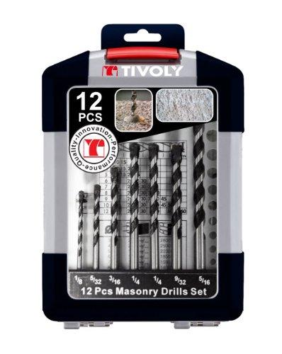Tivoly Reverso Masonry Drill Bit Set