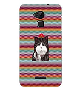 PrintDhaba Kitty D-3310 Back Case Cover for COOLPAD NOTE 3 LITE (Multi-Coloured)