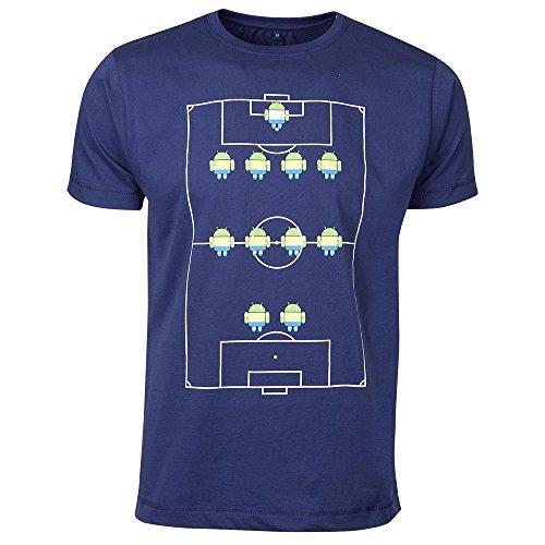 Google公式 Android Team Tee フットボールチーム ドロイドくん Tシャツ(ブラジルワールドカップ記念) 【並行輸入品】 (M)