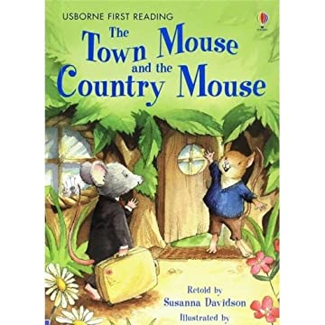 Cover Town Mouse And The Country Mouse,The Country Mouse: Level 4