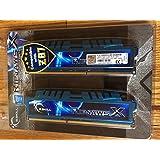 G.SKILL 8GB 2 X 4GB Ripjaws X Series DDR3 1600MHz PC3-12800 240-Pin Desktop Memory Model F3-12800CL8D-8GBXM