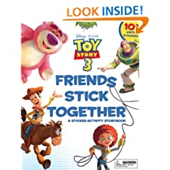 Friends Stick Together: A Sticker Storybook (Sticker-Activity Storybook, A)