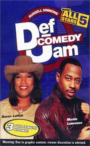 Def Comedy Jam 5: More All Stars [VHS]