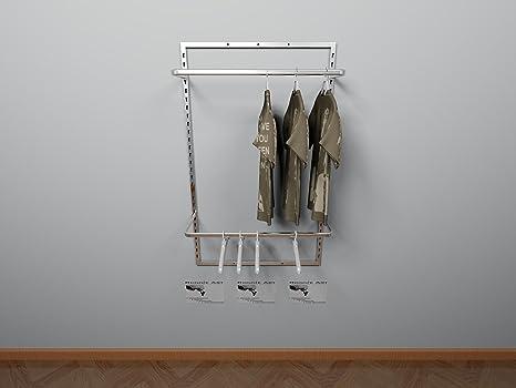Cabina armadio guardaroba arredamento negozi appenderia a parete versatile e funzionale
