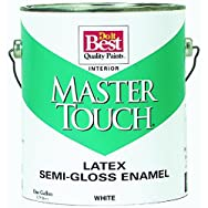 Master Touch Latex Semi-Gloss Interior Wall Paint-INT S/G ANTQ WHITE PAINT