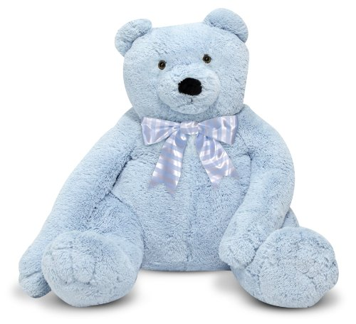 giant blue teddy bear