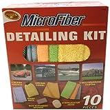 Detailer's Choice 1122 Microfiber Detailing Kit - 10-Piece
