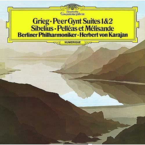 SACD : VON KARAJAN,HERBERT - Grieg: Peer Gynt /  Suites Etc (Limited Edition, Direct Stream Digital, Super-High Material CD, Japan - Import, Single Layer SACD)