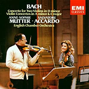 Bach: Violin Concertos in E major, D minor & A minor; Mutter, Accardo