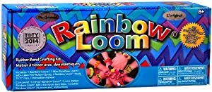 Official Rainbow Loom 2.0 Starter Kit Set with Metal Hook Tool