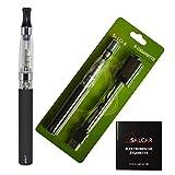 Salcar® eGo-T CE4 Cigarette électronique Kit Complet Sans Nicotine ni Tabac Noir...