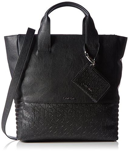 Calvin Klein - MADDIE PLUS NS TOTE, Borse da donna, black, OS
